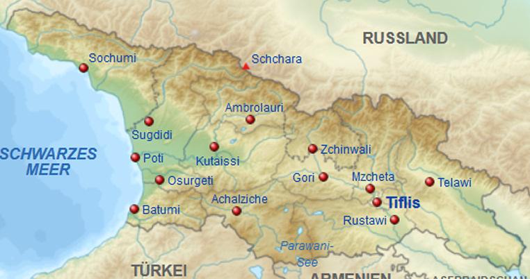 Georgien Karte Regionen.Telefonbuch Georgien Und Telefonauskunft Georgien