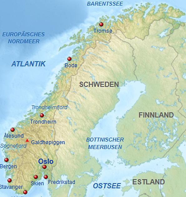 groesste insel norwegens